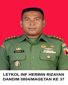 Letkol Inf Herwin Rizayan