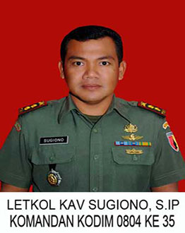 Letkol Kav Sugiono, S.IP