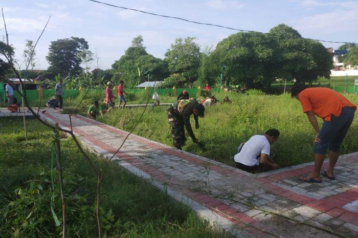 Kopka Kamarudin, Ajak Warga Kepolorejo Kerja Bakti Bersihkan Lingkungan