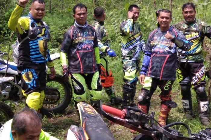 Trail Family Geatring Koramil 0804 /10 Kawedanan Bersama  Komunitas Double L Di Magetan