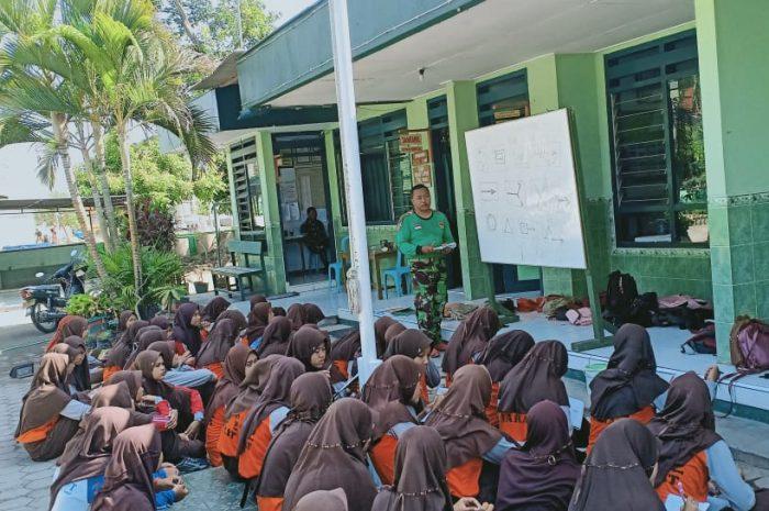 Tingkatkan Ketrampilan Anggota Pramuka Saka Wira Kartika Koramil 0804/08 Barat Laksanakan Latihan