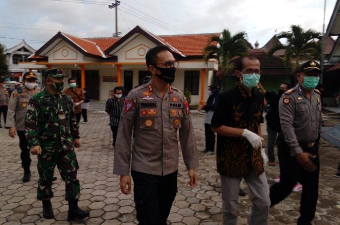 Dandim 0804 Dampingi Bupati Magetan Tijau Kampung Tangguh Covid-19 Desa Bogoarum