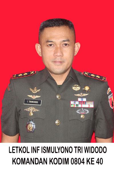 Letkol Inf Ismulyono Tri Widodo S.I.P