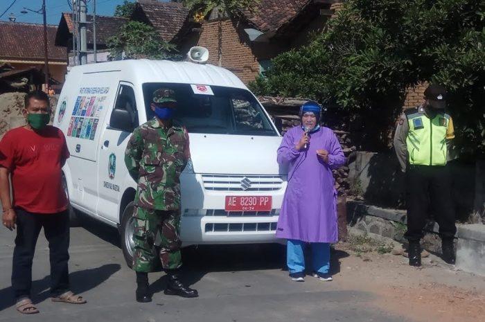 Cegah Penyebaran Covid-19, Babinsa Bersama Forkopinca Gelar Sosialisasi Dan Operasi Penertiban Masker