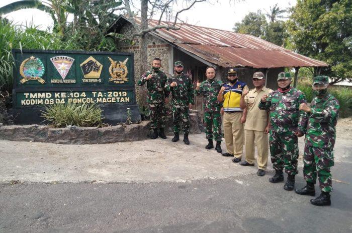 Tim Wasev Bidang Bakti TNI Sterad Apresiasi Kinerja TMMD Ke 104 Kodim 0804/Magetan